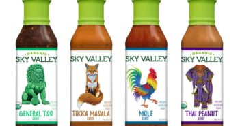 Sky Valley International Sauces Reviews and Information - all dairy-free, gluten-free, and vegan, in a global array of natural varieties