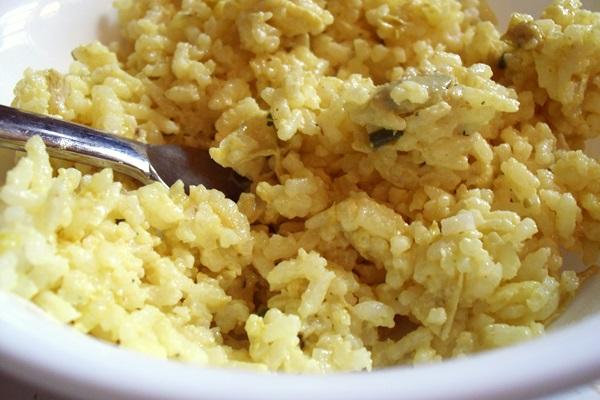 Curry Artichoke Rice Salad