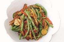 Snappy Bean Stir Fry