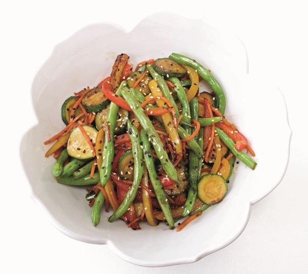 All Veggie Stir Fry Recipe