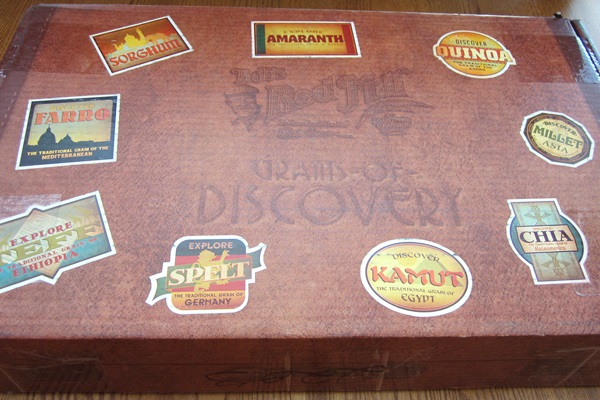 Grains of Discovery Kit Open - Amaranth Recipes