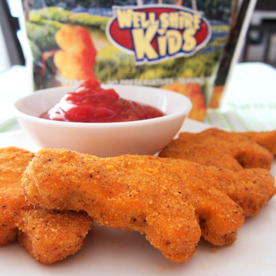 Wellshire Kids Dinosaur Gluten-Free Chicken Nuggets