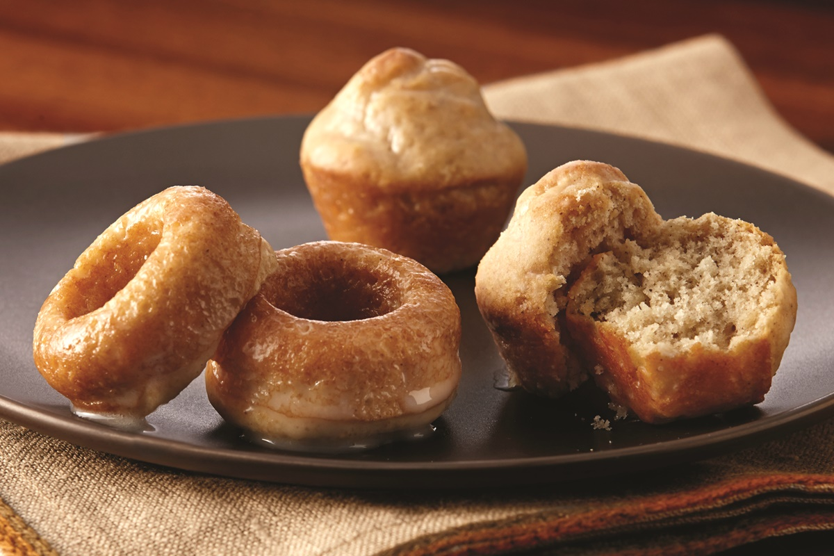 Mini Baked Donuts with Vanilla, Maple or Mocha Glaze - Easy Dairy-Free Recipe with Options!
