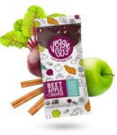 Veggie-Go's Strips Reviews and Info - dairy-free, gluten-free, vegan, all natural fruit and veggie snacks made with fruit purees, not juices. 1/2 cup fruits and veggies per strip!