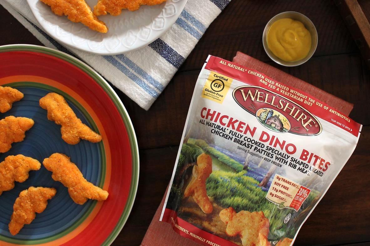 Wellshire Dino Bites - Kids Dinosaur-Shaped Dairy-Free, Gluten-Free Chicken Nuggets - Reviews and Info