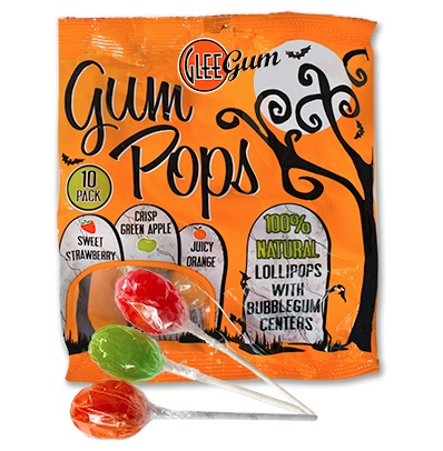 All-Natural Halloween Treats - Glee Gum Pops