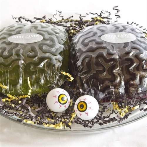 Allergy-Friendly Halloween Treats - Gummy Brains to Creepy Lollipops from Indie Candy