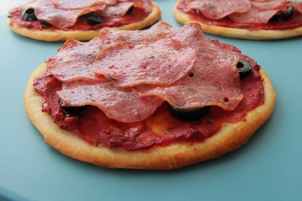 Cheeseless Dairy-Free Pizza with Farm to Fork Salame