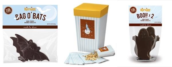 Dairy-Free Halloween Treats - Divvies Allergy-Friendly Caramel Corn and Chocolates