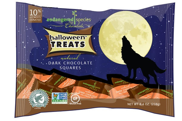 Endangered Species Dark Chocolate Halloween Treats