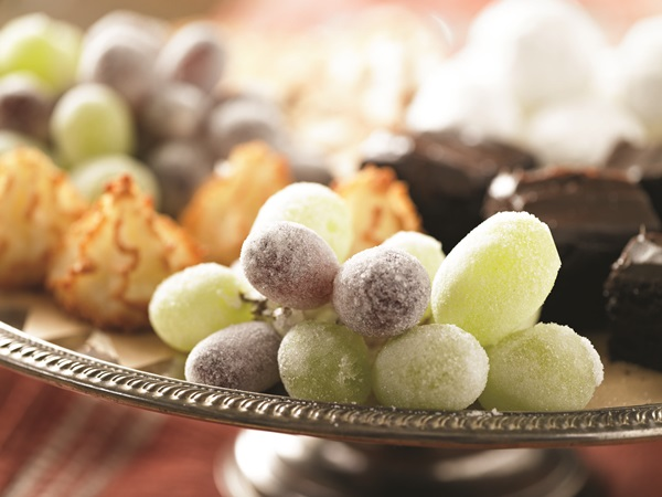 Easy Frosted Grapes Recipe
