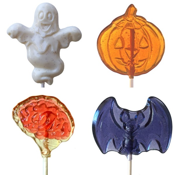 Halloween Treats - Allergy-Friendly Lollipops from Strawberry Hill