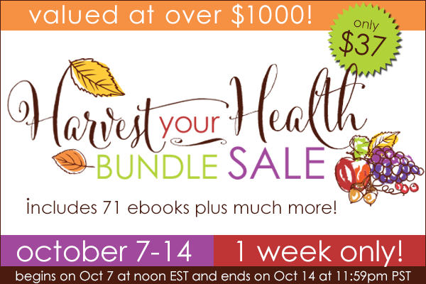 Harvest Your Health Bundle Sale - Paleo Ebooks