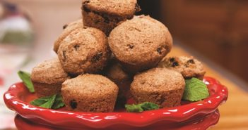 Cinnamon Maple Mini Muffins