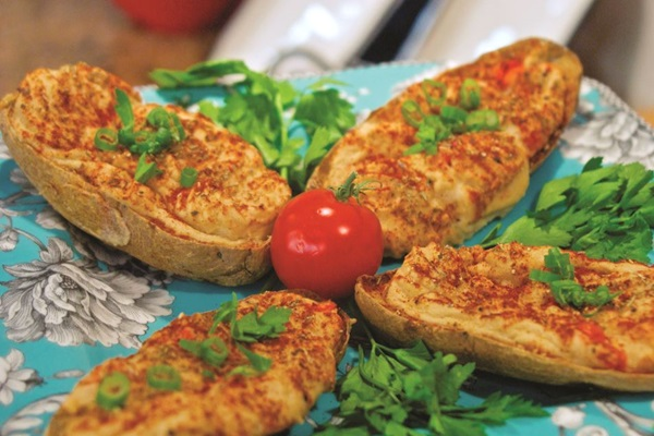 Vegan Twice Baked Potatoes Recipe