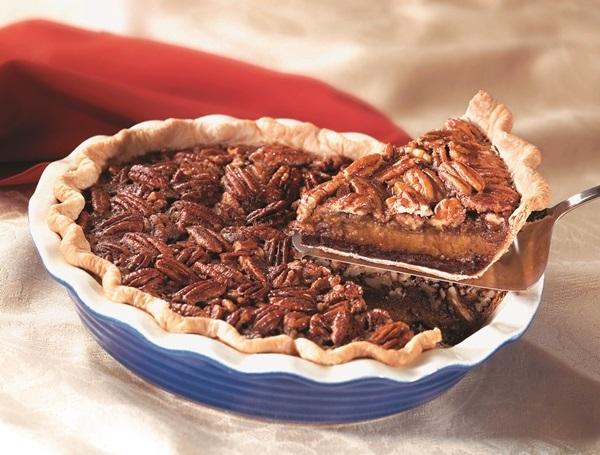 Decadently Dairy-Free Chocolate Pecan Pie