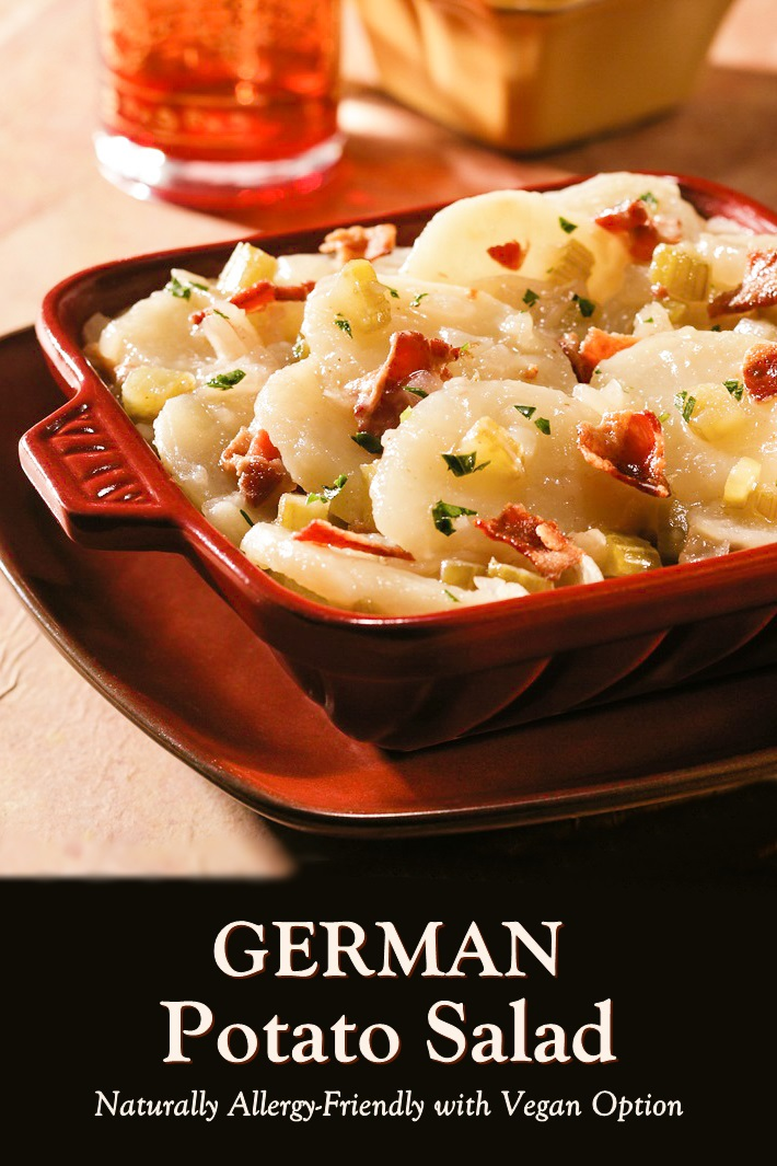 Authentic German Potato Salad Recipe (served warm or cold)