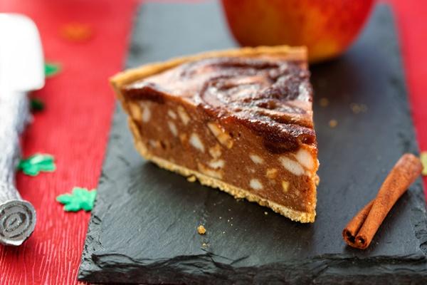 Vegan Apple Ice Cream Pie