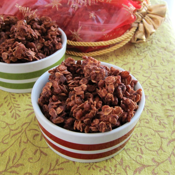 Triple Chocolate Granola