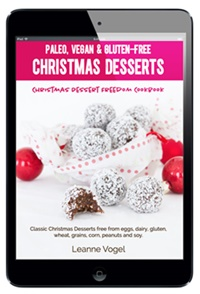 Dairy-Free Ebooks - Christmas Desserts Freedom Cookbook