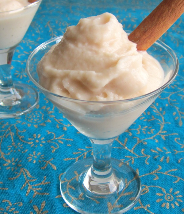 Frozen Dairy-Free Nog Ice Cream, Soft Serve or Frosties (Vegan)
