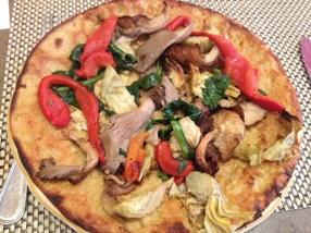 Dairy-Free Restaurant Reviews - Nizza Restaurant Pizza