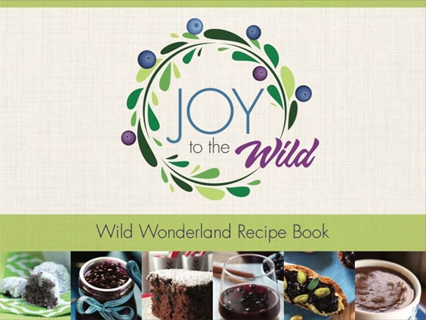 Joy to the Wild Blueberries Recipe Book
