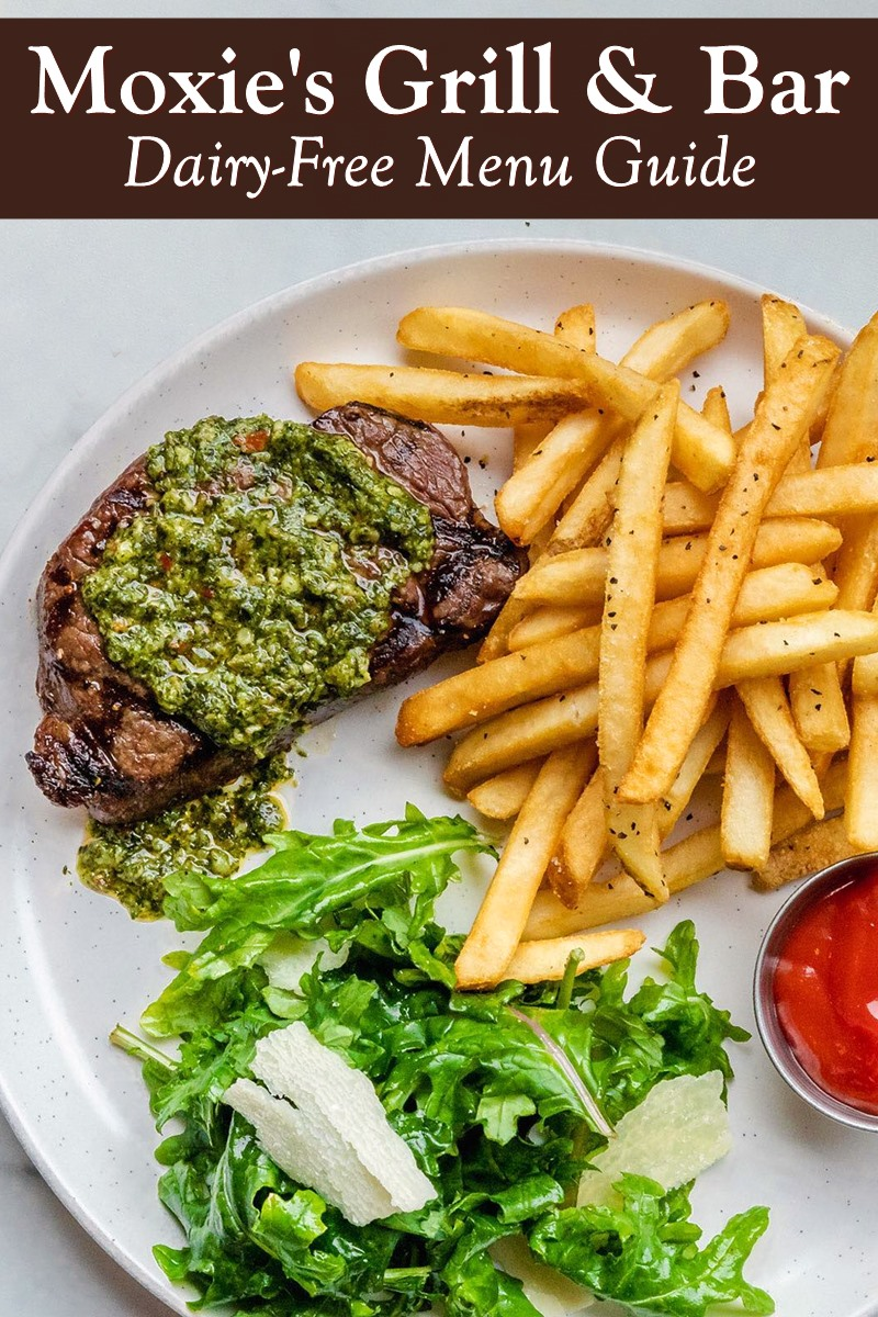Moxie's Grill & Bar Dairy-Free Menu Guide with Vegan Options - premium casual restaurant and lounge chain in the U.S. and Canada