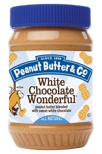 Peanut Butter and Co White Chocolate Wonderful Flavored Peanut Butter