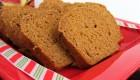 Gluten-Free Pumpkin Nog Bread