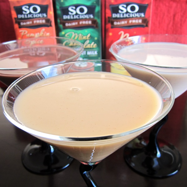 So Delicious Dairy Free Nog, Mint Chocolate and Pumpkin Spice