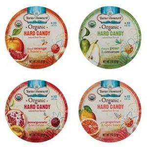 Torie and Howard Allergy-Friendly Organic Hard Candy Tins