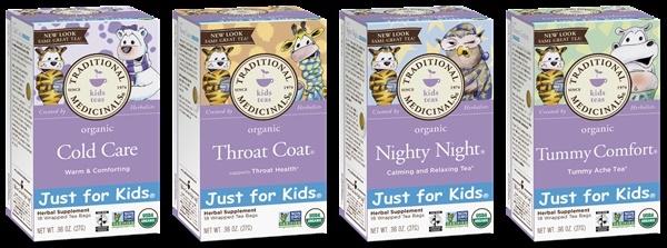 Traditional Medicinals Organic Wellness Teas - Just for Kids