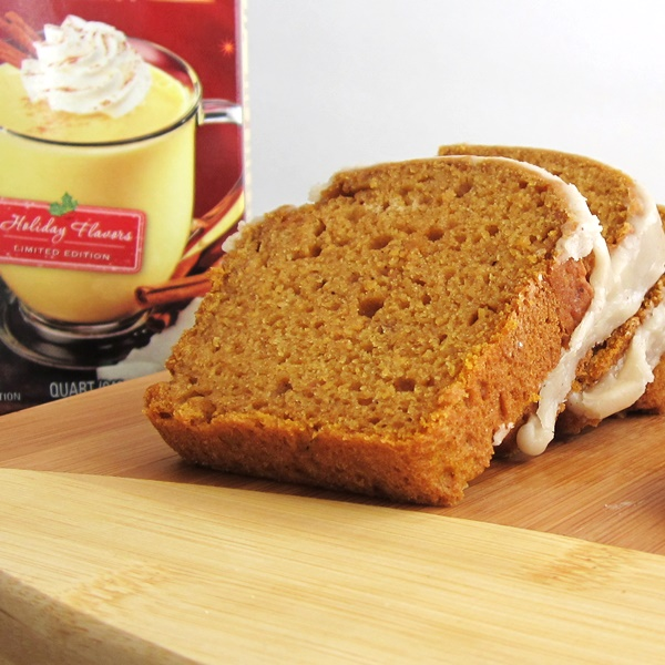 Vegan Pumpkin Nog Bread Recipe