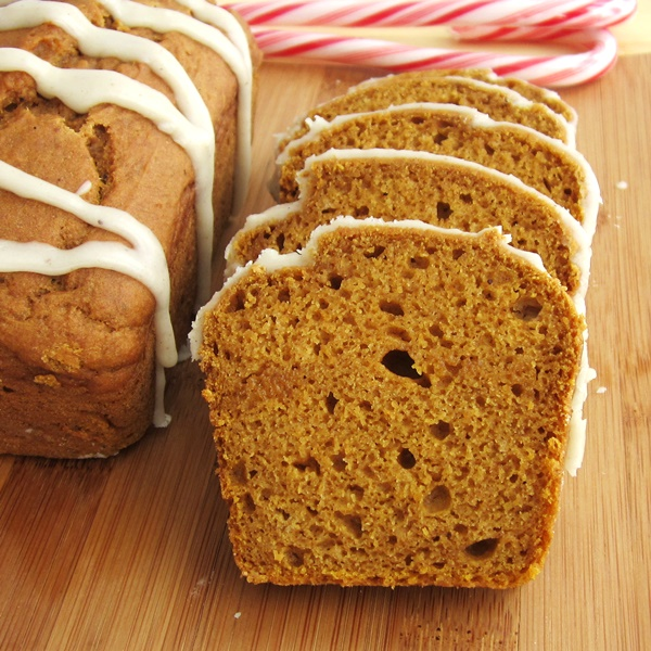 Recipes for Dairy-Free Holiday Dinners - Vegan Pumpkin Nog Bread