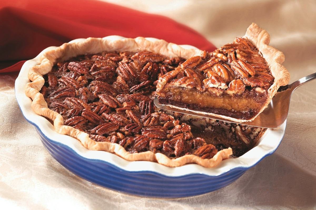 Decadently Dairy-Free Chocolate Pecan Pie Recipe