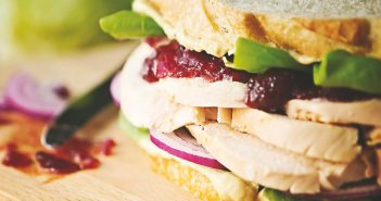 Turkey Cranberry Sandwiches Recipe - Healthy and Dairy-Free with Holiday Leftovers (gluten-free optional)