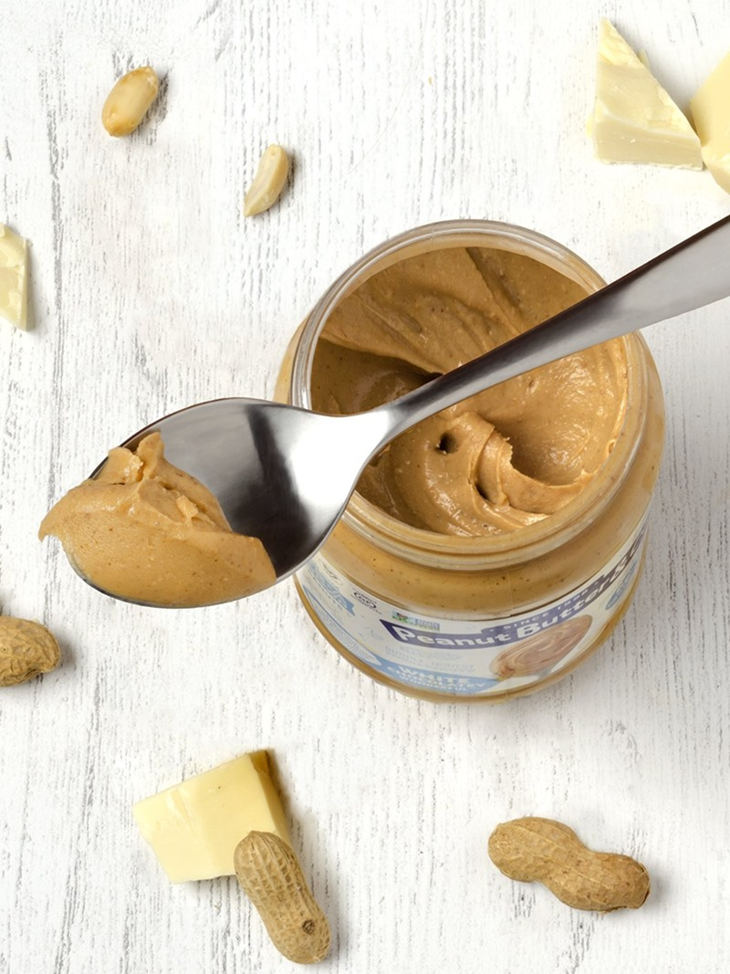 Peanut Butter and Co Flavored Peanut Butter Reviews & Info - Dairy-free, gluten-free, soy-free, plant-based flavors like White Chocolate, Dark Chocolate, and Cinnamon Raisin!