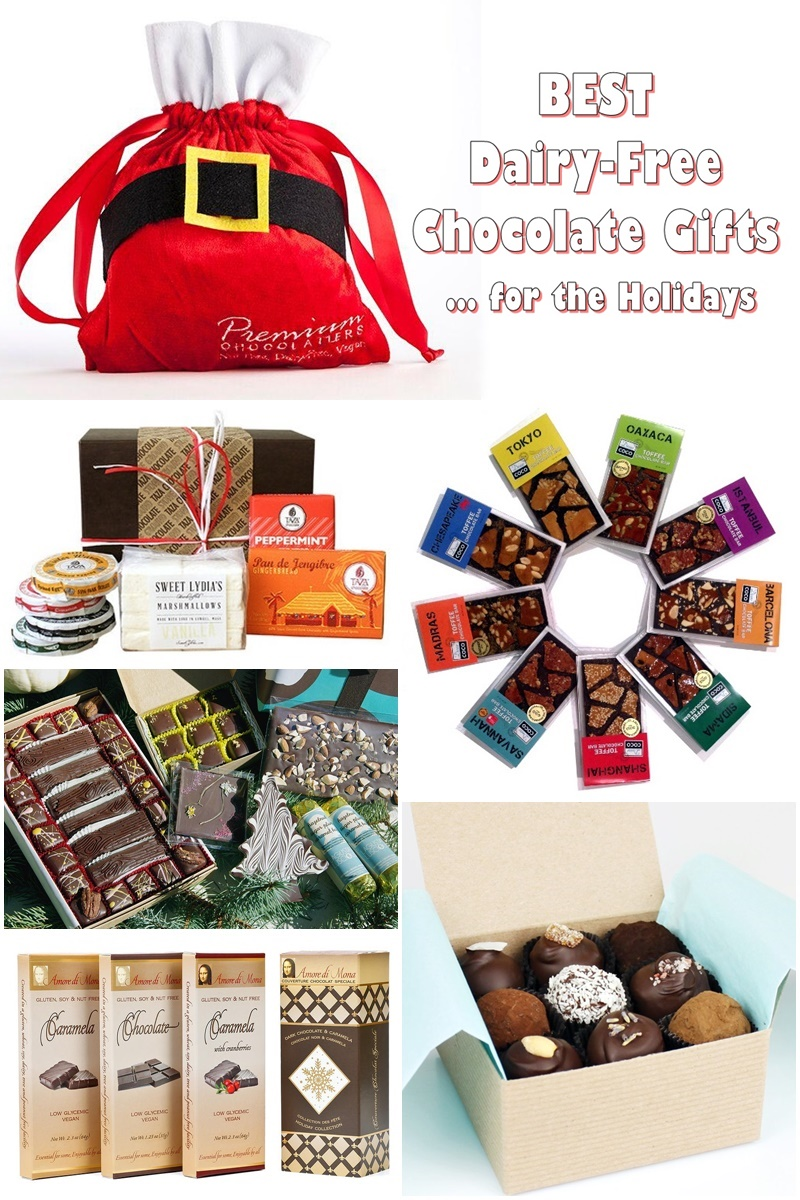 Best Dairy-Free Chocolate Gifts for the Holidays: A Dozen Gift-Worthy Indulgences that EVERYONE will Enjoy (vegan, gluten-free, allergy-friendly options)