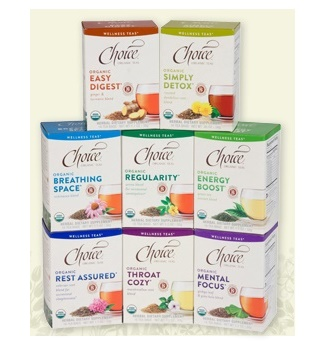 Choice Organic Teas - Wellness Varieties