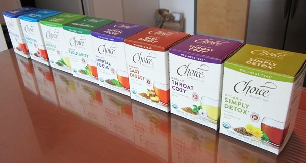 Choice Organic Teas - Wellness Line