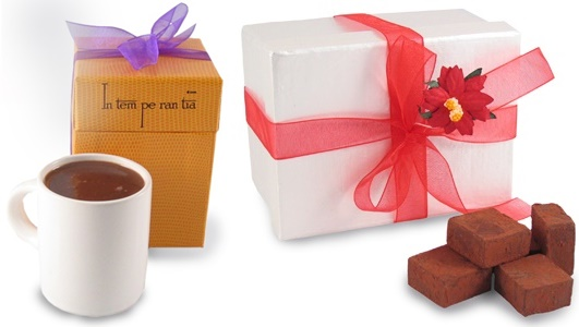 Dairy-Free Christmas Chocolate Gifts - Intemperentia