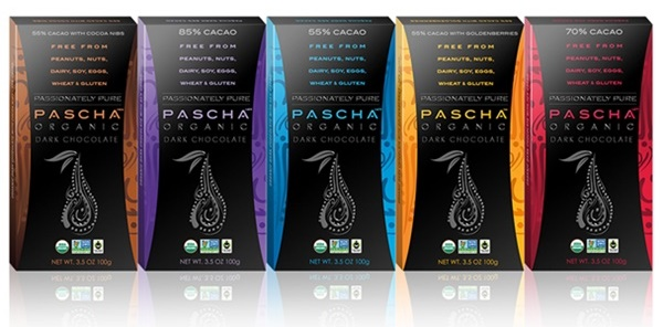 Dairy-Free Christmas Chocolate Gifts - Pascha Chocolate Bars