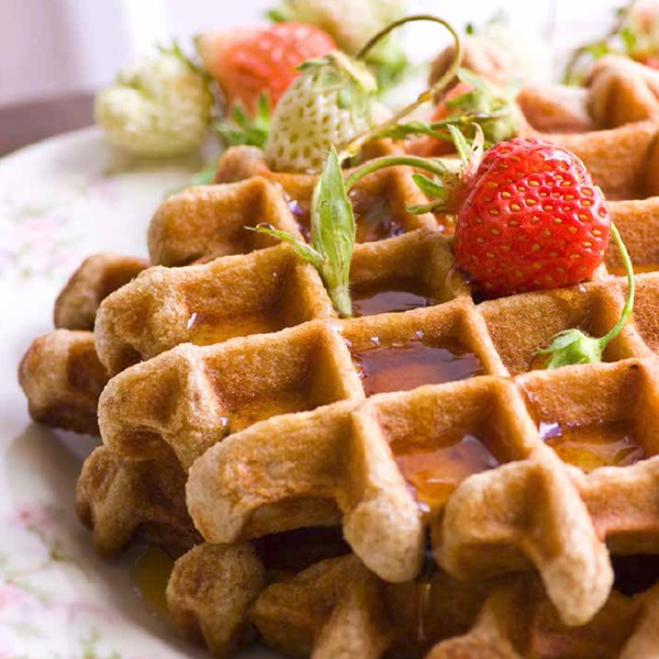 Everyday Classics: 68 Tasty and Essential Recipes that are Dairy-Free, Gluten-Free, Egg-Free, Soy-Free, and Peanut-Free - Whole Grain Gluten-Free Waffles