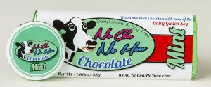 No Cow No How Chocolate - Mint Dairy-Free Milk Chocolate Flavor