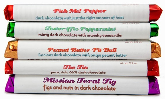 Top 12 Dairy-Free Chocolate Gifts for the Holidays (Rescue Chocolate Bar Gift Pack pictured)