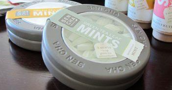 Sencha Naturals Green Tea Leaf Mints