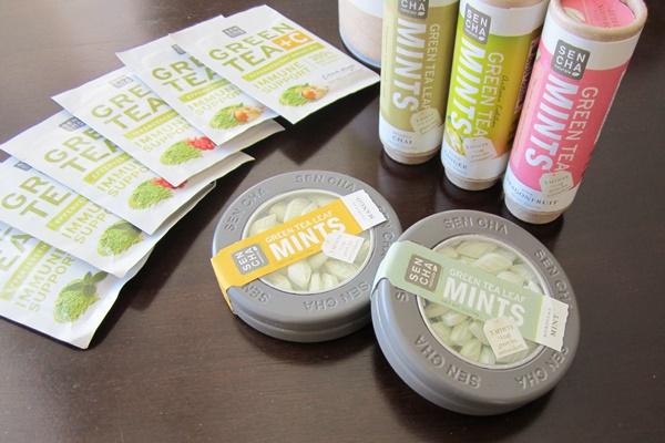 Sencha Naturals Green Tea Leaf Products