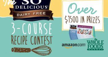 So Delicious Dairy Free 3-Course Recipe Contest