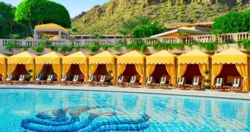 The Phoenician - Canyon Suites Cabana Lined Pool Feature